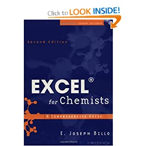 Excel for Chemists: A Comprehensive Guide (2nd Edition) E. Joseph Billo
