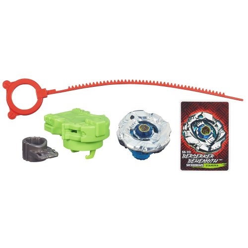 Beyblade Shogun Steel BeyBattle Tops SS-22 Berserker Behemoth SR200BWD Top - 1