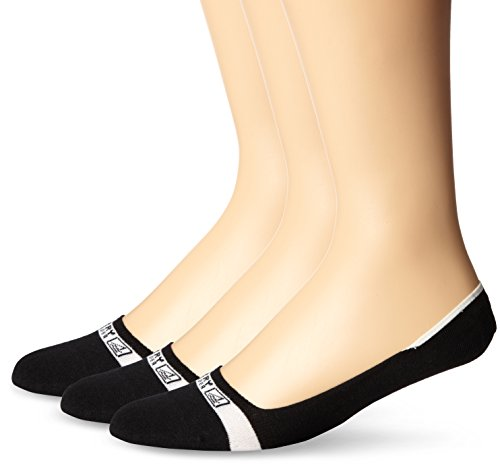 SPERRY Men's Signature Invisible Solid 3 Pair Pack Liner Socks, Black, 10-13 (Shoe Size 6-12) (Invisible Sock Liner compare prices)
