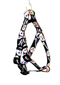 Yellow Dog Design Pittsburgh Steelers Licensed NFL Step-In Dog Harness from Yellow Dog Design
