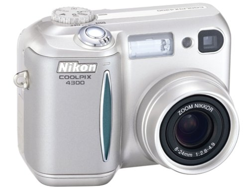 Nikon Coolpix 4300 4MP Digital Camera w/ 3x Optical Zoom
