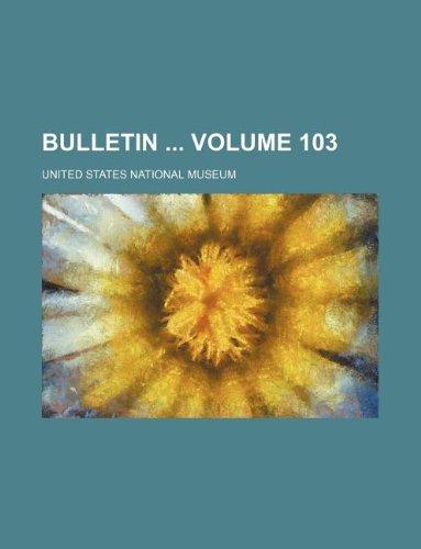 Bulletin  Volume 103