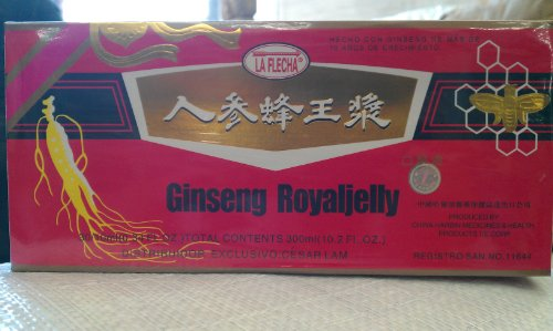 Ginseng Royaljelly (La Flecha) 30X10Cc