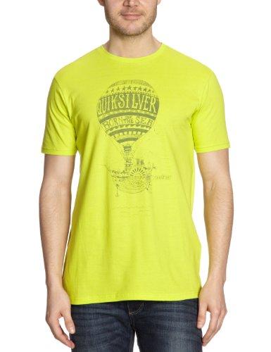 Quiksilver Basic Tee Plain Men's T-Shirt Zest X-Large