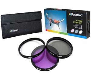 Polaroid Optics juego de filtros de 67 mm de 3 piezas (UV, CPL, FLD)  Electrónica Comentarios y más información