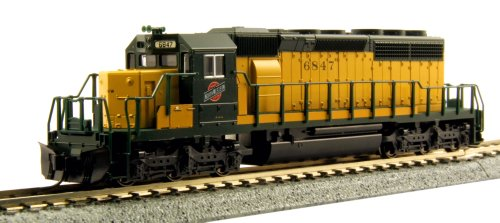 Kato USA Model Train Products 6847 N EMD SD40-2 Early Chicago and North Western Train