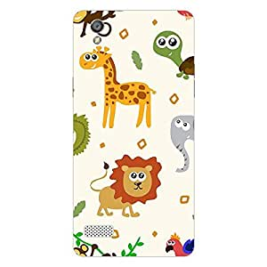 Garmor Designer Plastic Back Cover For Huawei Honor Holly 2 Plus