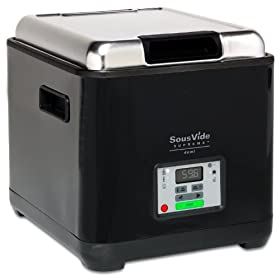 SousVide Supreme Demi Water Oven - black