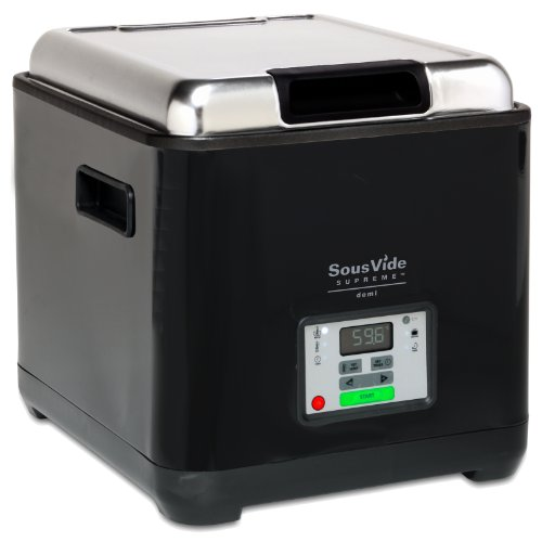 Sous Vide Supreme Demi Water Oven, Black, SVD-00101 (Water Immersion Cooker compare prices)