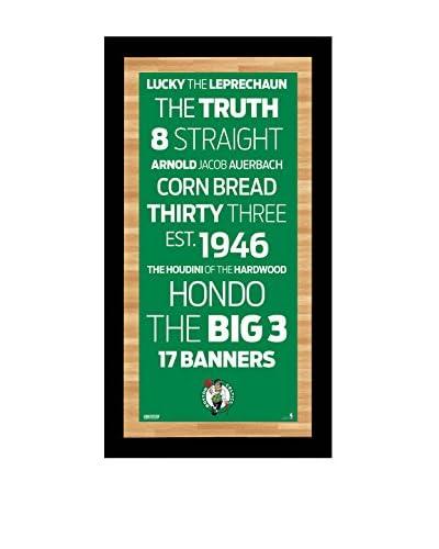 Steiner Sports Memorabilia Boston Celtics Subway Sign, 20 x 10