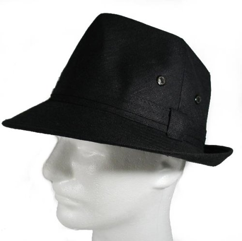 Buy Fedora Crusher Hat Summer Style Hip Hop Rock Cotton Bucket