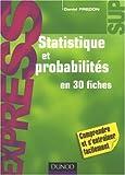 echange, troc Daniel Fredon - Statistique et probabilités en 30 fiches