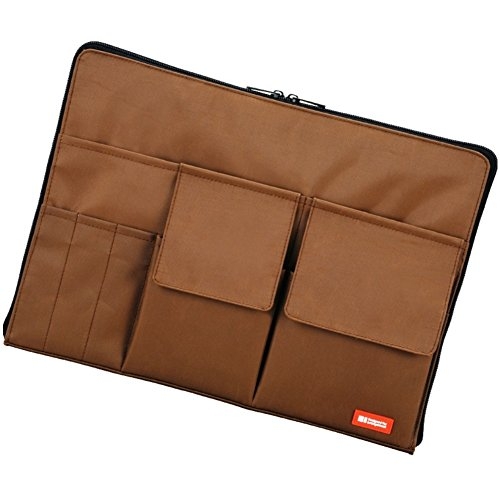 Lihit Lab Bag-In-Bag, Brown, 10 x 13.8 Inches (A7554-9)