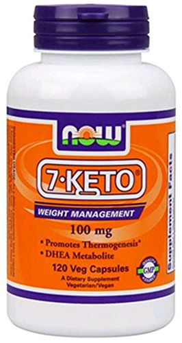 7-Keto 100mg 120 VegiCaps (pack de 2)