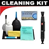 Lenspen Lens Cleaning System + Hurricane Blower + Deluxe 5-Piece Cleaning Kit For The Nikon D50, D80, D90 Digital SLR Cameras