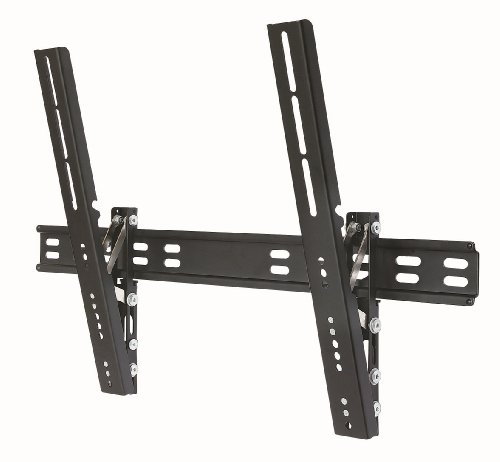 Duronic TVB201L Ultra Slimline Ultra Strong Adjustable Black LED LCD TV Tilt Tilting Wall Mount Bracket 40″-65″ – MAX VESA 600 X 400 (distance between the holes on the back of your TV)