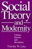 img - for Social Theory and Modernity: Critique, Dissent, and Revolution book / textbook / text book