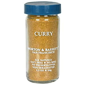 Morton & Bassett Curry Powder, 2.3-Ounce Jars (Pack of 3)