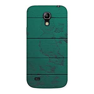 Wood Green Texture Back Case Cover for Galaxy S4 Mini