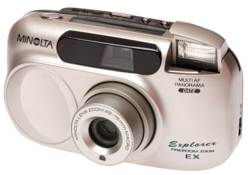 Minolta Freedom Explorer EX Panorama 28-75 Zoom Date 35mm Camera