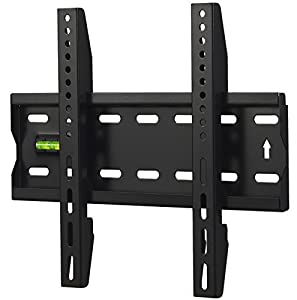 VonHaus Basics Ultra Slim TV Wall Mount for 15 - 42-Inch LCD LED 3D Plasma TVs Super Strong 88lbs Weight Capacity