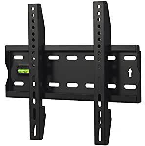 VonHaus Basics Ultra Slim TV Wall Mount for 15 - 42 Inch LCD LED 3D Plasma TVs Super Strong 40kgs Weight Capacity Max VESA 300x200