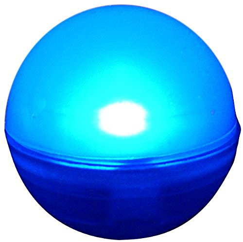 Lily'S Home Fairy Led Lights, Magical Led Light, Wedding Centerpiece Lights, Party Lights. Pack Of 10 (Blue)