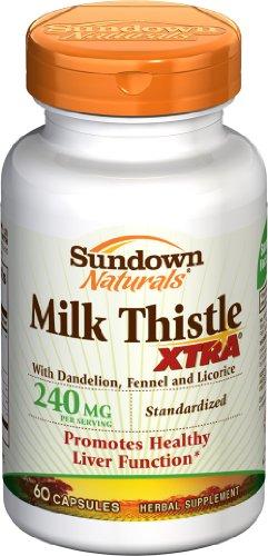 Sundown  Milk Thistle XTRA Capsules - 60ct