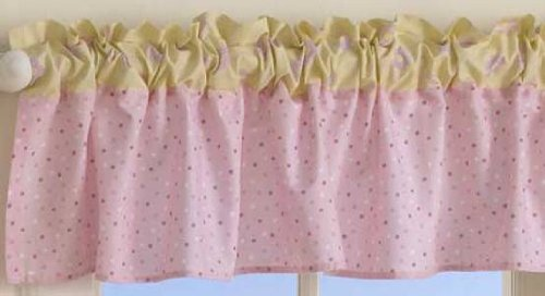 Bedtime Originals Butterfly Garden Window Valance - 1