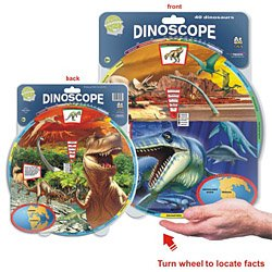 Knowledge Wheel Dinoscope