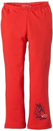 Salt & Pepper Pantalon  Fille - Rouge - Rot (purpur red) - FR : 4 ans (Taille fabricant : 104)