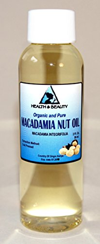 Macadamia Nut Oil Organic Carrier Cold Pressed 100% Pure 2 Oz front-761784