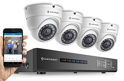 Check Out This Amcrest Full-HD 1080P 4CH Video Security System - Four 1920TVL 2.1-Megapixel Weatherp...