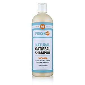 Fresh Cat Softening Natural Oatmeal Shampoo