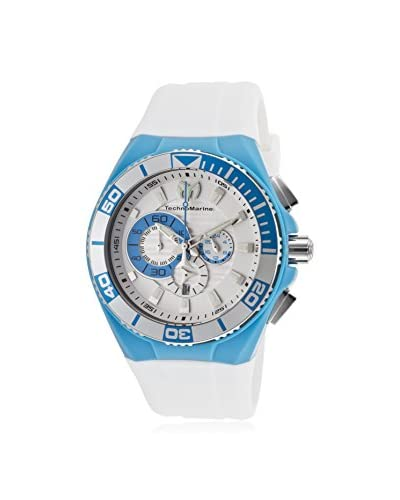 Technomarine Women's 112013 Cruise White/White Silicone Watch