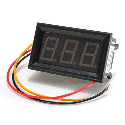 Led Mini 0.56 Inch Digital Voltmeter Panel Meter Dc 0-99.9V 3 Wire,Blue