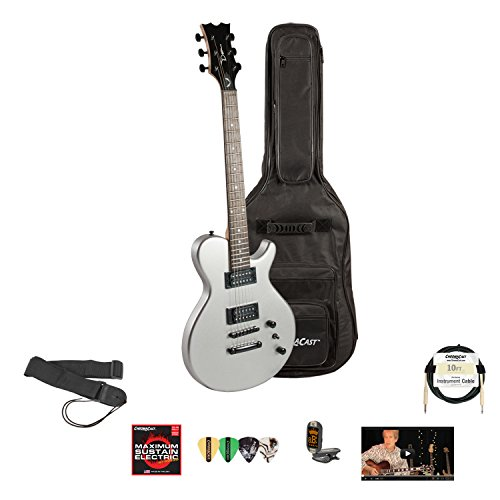 Dean Evo Xm Msl Electric Guitar With Lesson, Chromacast Gig Bag, Strings, Strap, Cable, Tuner And Picks