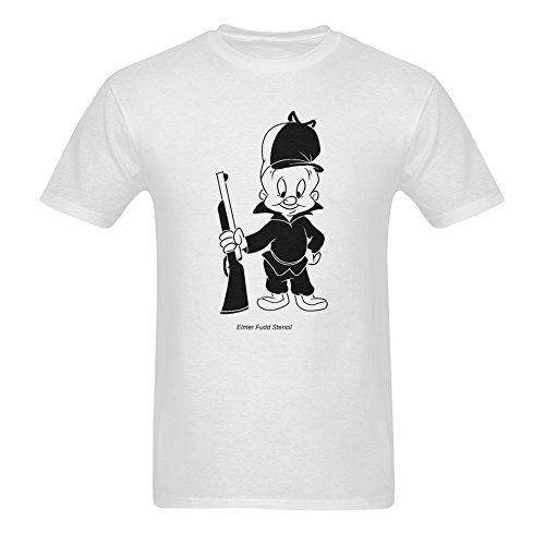 yu-ye-mens-elmer-fudd-short-sleeve-t-shirts-large