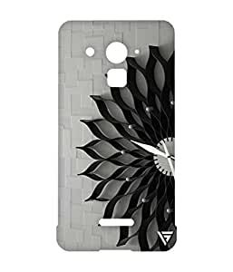 Vogueshell Flower Clock Printed Symmetry PRO Series Hard Back Case for Coolpad Note 3 Lite