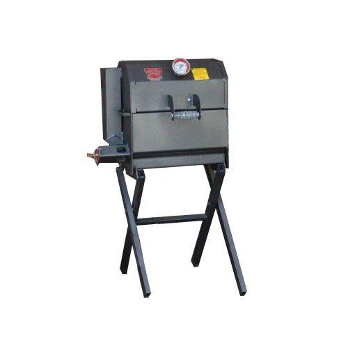 """R & V Works 12"""" X 18"""" Cajun Grill Jr. With Removable Stand - 45,000 Btu, Lp"""
