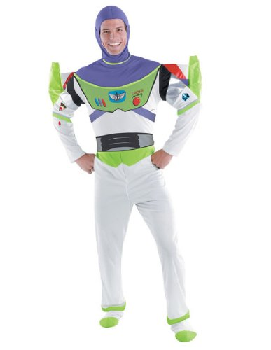 Deluxe Buzz Lightyear Costume - XX-Large - Chest Size 50-52