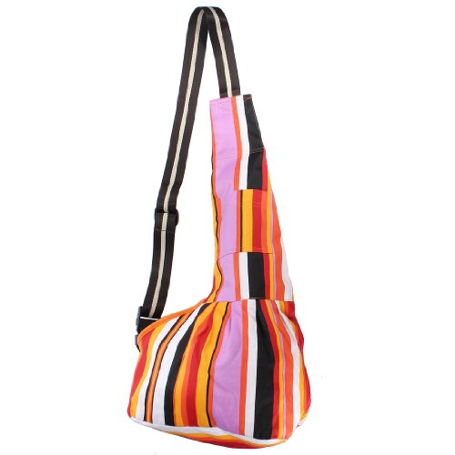 Colored-Durable-Oxford-Cloth-Sling-Single-Shoulder-Pet-Carrier-Bag