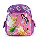 """Disneys Fairies 12"""" Toddler Size Backpack - Featuring Tinker Bell"""