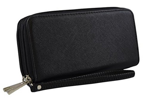 1st Class Fashion Collection, Faux leather Women's Zip-Around Wallet/Clutch
