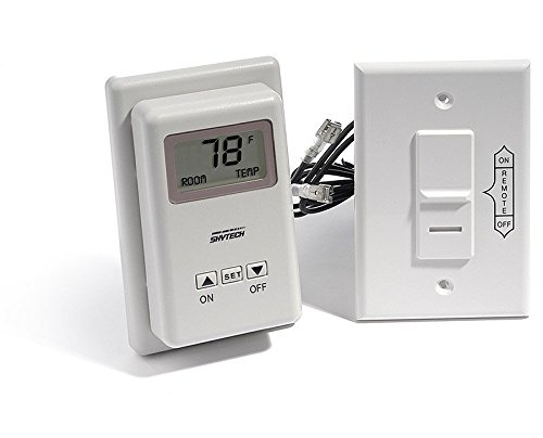 Skytech Millivolt Wireless On/Off Wall Thermostat And Receiver - Ts/R-2a (Wireless Stove Thermostats compare prices)