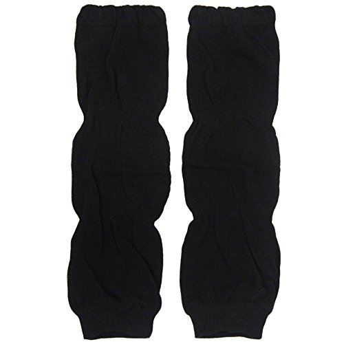 New Baggy Soft Cotton Baby Knee Pads Leg Warmer/ Leggings Black 8061244