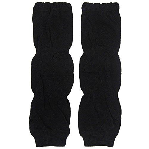 New Baggy Soft Cotton Baby Knee Pads Leg Warmer/ Leggings Black 8061244