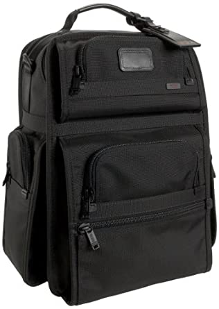Tumi Alpha T-Pass Business Class Brief Pack, Black, One Size