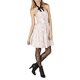 Rodarte® for Target® Juniors Lace Halter Floral Dress
