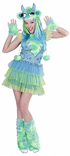 Green Monster Girl (L) (Dress H/Piece Gloves Leg Warmers)